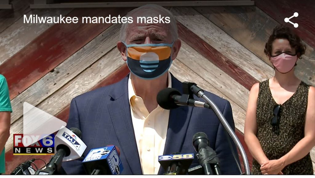Mask Mandate Milwaukee