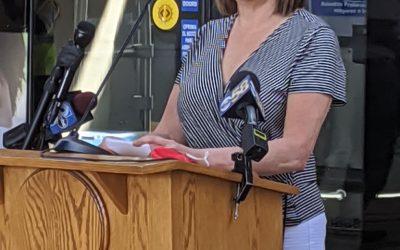 Loretta Kryshak of Rebel Reform Renews Commitment to Ensure All Community Access to Free Face Masks